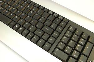 Come riparare bloccati tasti su una tastiera