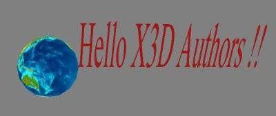 Come creare grafica Web X3D con animazione