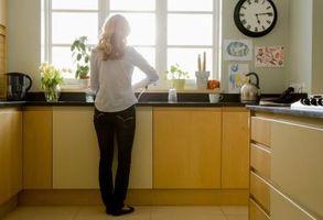 Interni cucina moderna finestra Trim idee