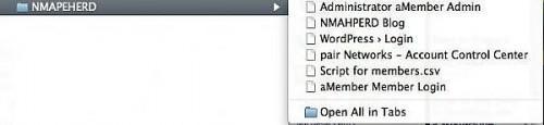 Come utilizzare le schede con i segnalibri in Firefox