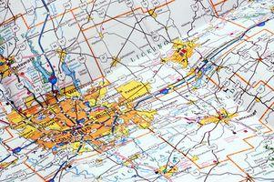 Saper identificare le caratteristiche del terreno su una mappa in PowerPoint