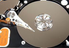 Come cambiare il disco rigido in un computer portatile HP