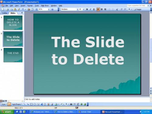 Come eliminare una diapositiva in PowerPoint