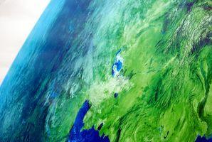 Come fare un modello di strati della terra