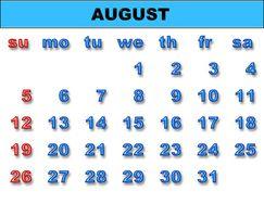Come fare un calendario in Excel 2007