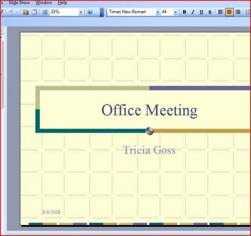 Come muoversi alle diapositive in una presentazione di Power Point