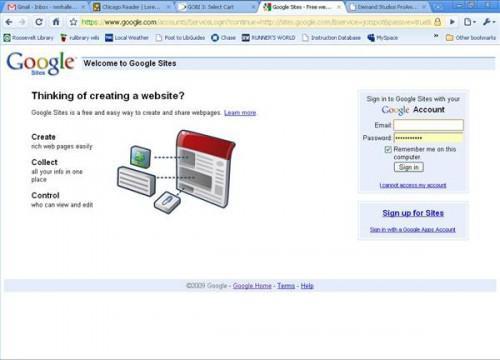 Come creare una pagina Web disponibile in Google