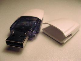 Come utilizzare un Flash Drive come memoria con sistema operativo Linux su un PC