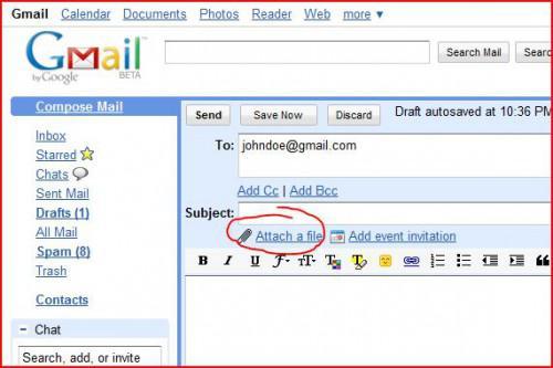 Come inviare i documenti scansionati in formato PDF