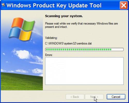 Come modificare le chiavi di attivazione di Windows XP