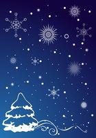 Artigianato di cartolina di Natale per i bambini