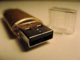 Come impostare una variabile di lettera di unità per un Flash Drive
