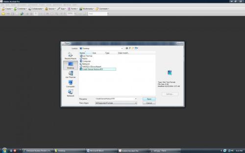 Come convertire un formato RTF in PDF