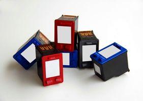 Come resettare le cartucce d'inchiostro nero HP 4700